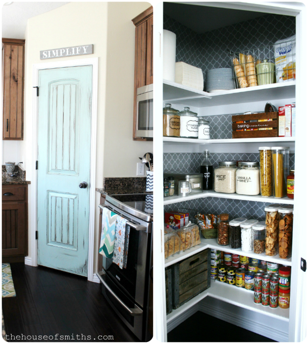 Organized Pantry Makeover - thehouseofsmiths.com